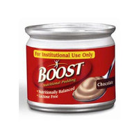 Boost Nutritional Pudding Chocolate 5 oz. Can Ready to Use 240 Cal 6 Cases of 48