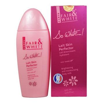 Paris Fair & White So White! Lait Skin Perfector Body Milk 17.6 oz