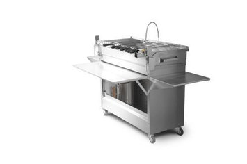Mygrill - Fold N'go Chef Smart Small Grill - Ultimate Plus Package