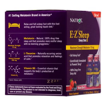 Natrol Llc Natrol EZ Sleep Shot 10mg, 4 Ct