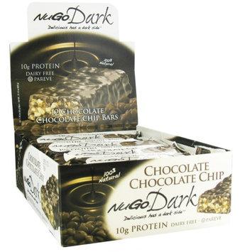 NuGo Nutrition, Organic Protein Bars, Dark Chocolate Chip, 12 Bars, 1.76 oz (50 g) Each(pack of 4)