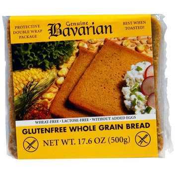 Bavarian Breads, Gluten Free Whole Grain Bread, 17.6 oz (500 g) [Flavor : Whole Grain]