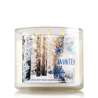 Bath & Body Works Bath and Body Works 3-wick Candle 2016 Winter Edition