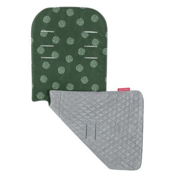 Maclaren Seat Liner, Starburst Racing Green/Silver (Discontinued by Manufacturer) (Discontinued by Manufacturer)