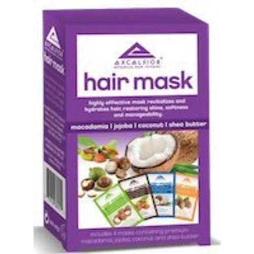 Excelsior Hair Mask Packette Collection 4-Count (Pack of 2)