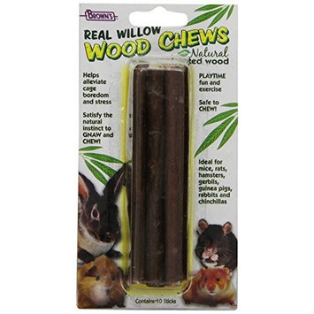 F.M. Brown's All - Natural Untreated Willow Wood Chews, 2-Ounce