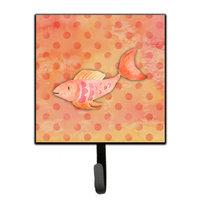 Orange Fish Watercolor Leash or Key Holder BB7387SH4
