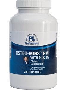Progressive Labs Osteo- Mins PM With D+K1, K2 240 Caps
