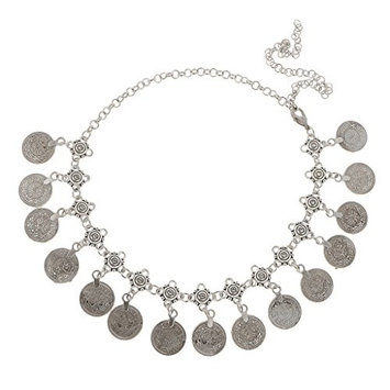 MonkeyJack Bohemian Gypsy Style Coins Tassel Head Chain Headpieces Headband Jewelry
