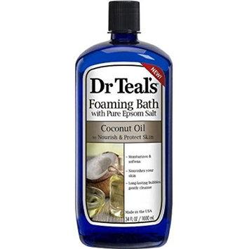 Dr. Teal's Foaming Bath With Pure Epsom Salt - Coconut Oil - 34 Fl. Oz.