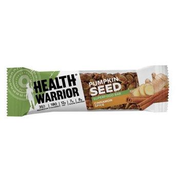 Health Warrior Pumpkin Seed Bars, Cinnamon Spice, 1.5 Oz, 12 Ct