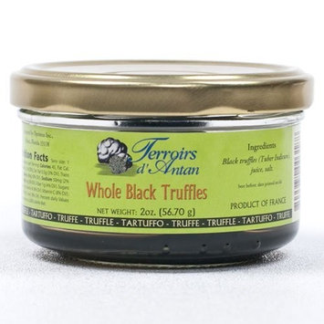 Asian Black Winter Truffles - Brushed - 1 x 2 oz jar