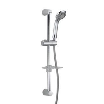 Oak Brook S2231314CP-ACB1 Slide Bar Shower Head With Soap Dish Handheld 3 Setting 25