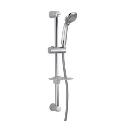 Oak Brook S2231314CP-ACB1 Slide Bar Shower Head With Soap Dish Handheld 3 Setting 25