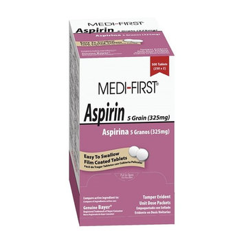 Aspirin, Tablet, Pk 250