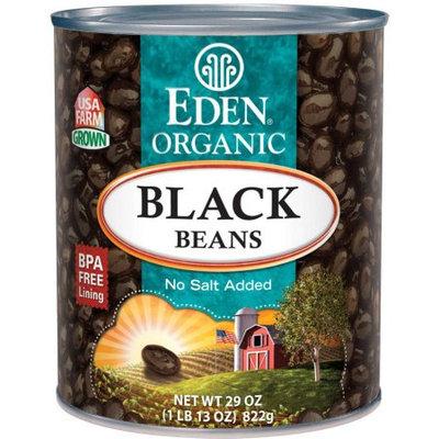 Eden Organic Eden Black Beans, Organic, 29 Ounce (Pack of 6)