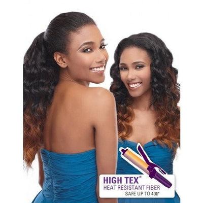 Outre Quick Weave Up Do U Half Wig - YAZ (1 - JET BLACK)