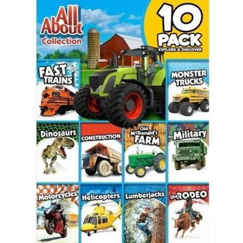 Alliance Entertainment Llc All About Collection 10-pack: Explore & Discover (dvd)