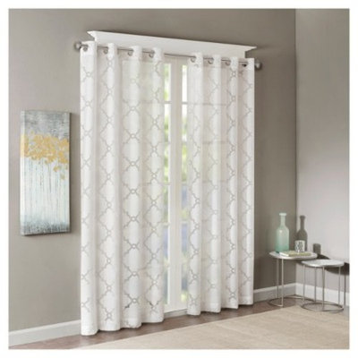 Zoe Fretwork Burnout Sheer Panel