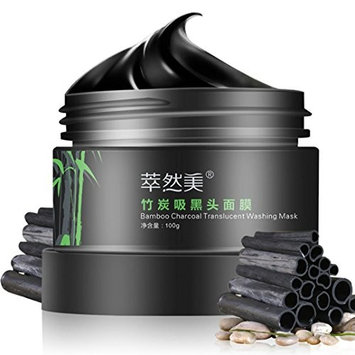 OVERMAL Bamboo Charcoal Blackhead Remover Deep Clean Purify Peel Off Mud Face Mask