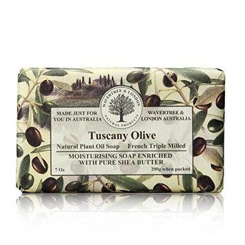 Wavetree & London Tuscany Olive 200g/7oz Frenh Triple Milled Soap by Wavetree & London