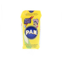 PAN White Corn Meal - Harina de maiz blanco precocida 1 Kg (Pack of 12)