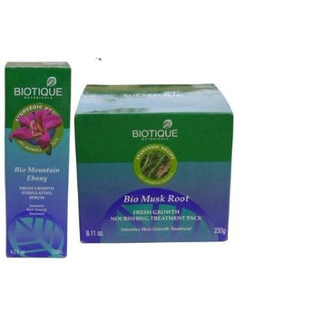 Biotique Hair Growth set (Mountain Ebony and Musk Root)