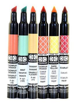 Chartpak Pickett AD Markers light green, tri-nib [pack of 6]