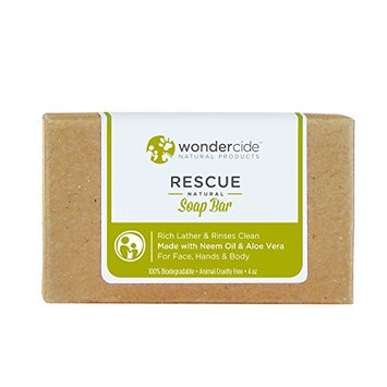 Wondercide Moisturizing Organic and Natural Soap Bar with Aloe Vera - 4.3 oz …