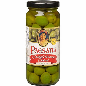 Paesana Castelvetrano Pitted Olives, 9 Ounce