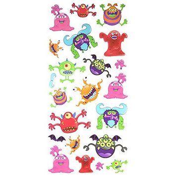 Spestyle Waterproof and nontoxic Fake temporary tattoo stickers for kids, carton tattoos including many terrible animal monsters by SPESTYLE