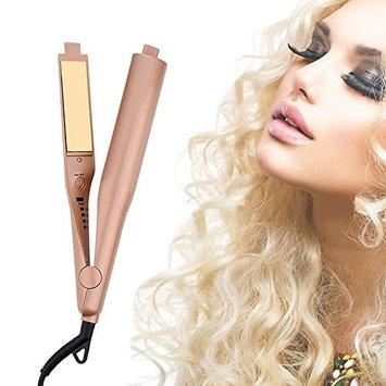 Hair Straightener Irons,Hann 2 in 1 Ceramic Styling Salon Tools Professional Hair Straightener & Hair Curler (g