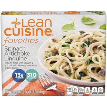 LEAN CUISINE FAVORITES Spinach Artichoke Linguine 10 oz. Box