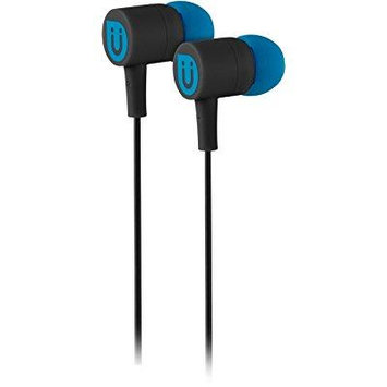 Uber Headphones Rubberized Ear Buds - Black 13124