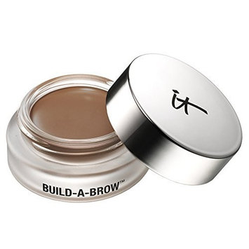 it Cosmetics Build-A-Brow Waterproof 5-in 1 Micro Fiber Creme Gel Stain (Universal Taupe) by It Cosmetics