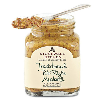 Stonewall Kitchen Mustard, Traditional Pub Style, 8 Ounce [Traditional Pub Style]