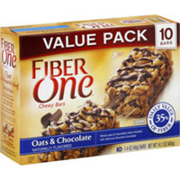 Fiber One Oats & Chocolate Chewy Bars Value Size