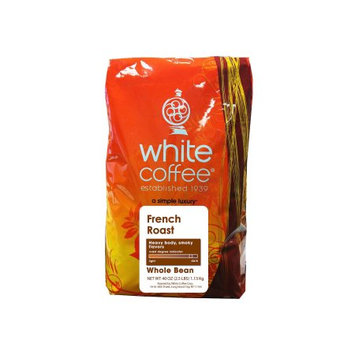 White Coffee French Roast Whole Bean 2.5lbs.