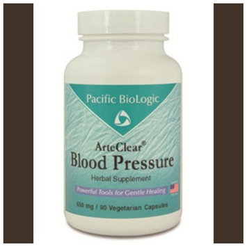 Pacific Biologic ArteClear: Blood Pressure 90 vcaps