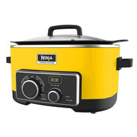 Walbak International Marketing Ltd. Refurbished Ninja 4 In 1 Slow Cooker 6 Qt - Yellow