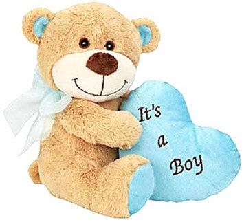 Grriggles Bundle of Joy Bear Dog Toy Blue