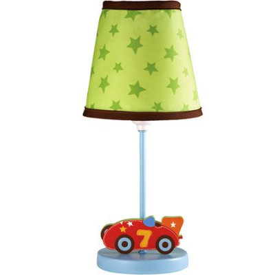 Little Bedding by NoJo - Zoom Cars Lamp