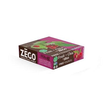 ZEGO Fruit+Chia Raspberry Bars (12 bars/box)