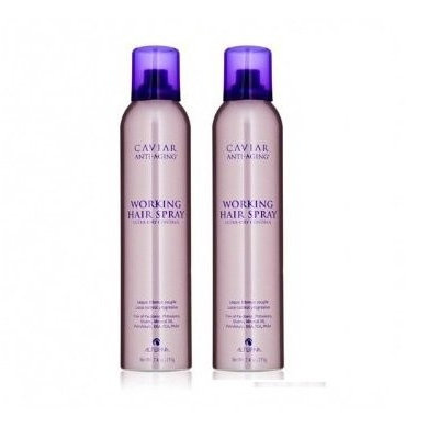 Alterna Caviar Anti-Aging Working Hair Spray 15 oz (2 Pack Duo)