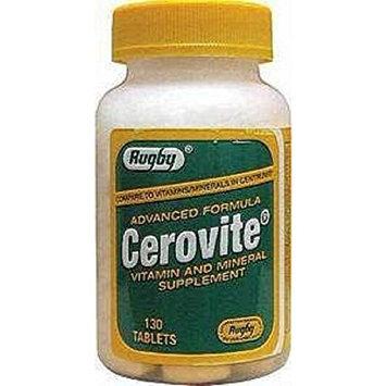 Cerovite Advanced Formula Tablets, 130 Count Per Bottle (5 Bottles)