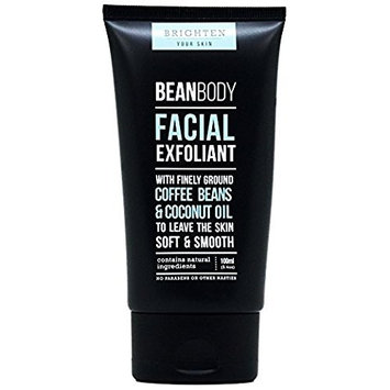 Bean Body Finely Grounded Coffee Beans & Coconut Oil Facial Exfoliant