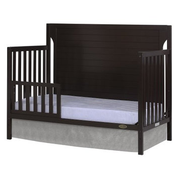 Dream On Me Universal Convertible Crib Toddler Guard Rail, Mocha