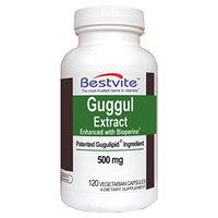 Bestvite Guggul Extract 500mg (Gugulipid) (120 Vegetarian Capsules)