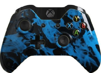 Evil Controllers X1iBFCxMM Blue Fire Master Mod Xbox One Modded Controller