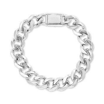 EFFY® Men's Curb Link Bracelet in Sterling Silver